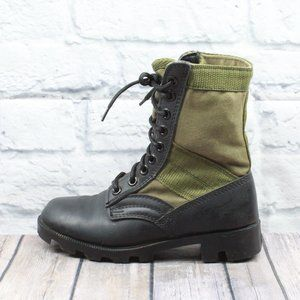 ROTHCO Green Combat G.I.Style Jungle Boot Size 4 R